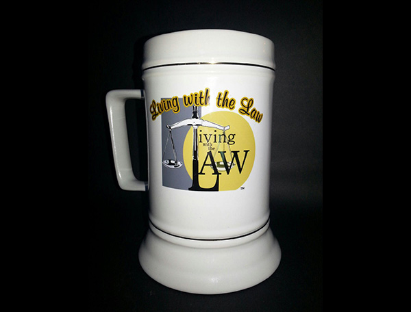 Living with the Law Mug
